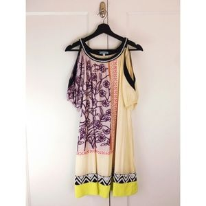 Anthropologie Dresses - Anthro Leifnotes Brimming Borders Shift Dress 10